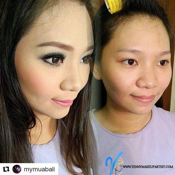 Before & After by Yenny Makeup Artist - 002