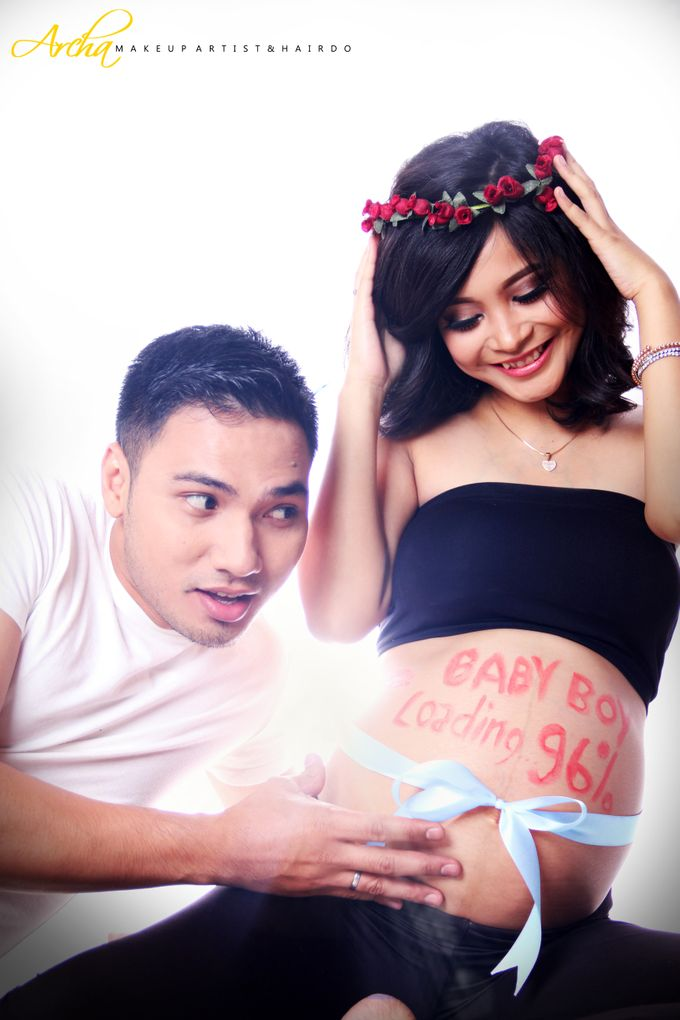 Maternity Photoshoot by Archa makeup artist - 003