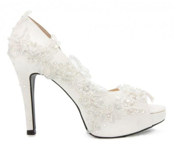 Custom made wedding shoes by Kate Mosella Custom Made Shoes - 009