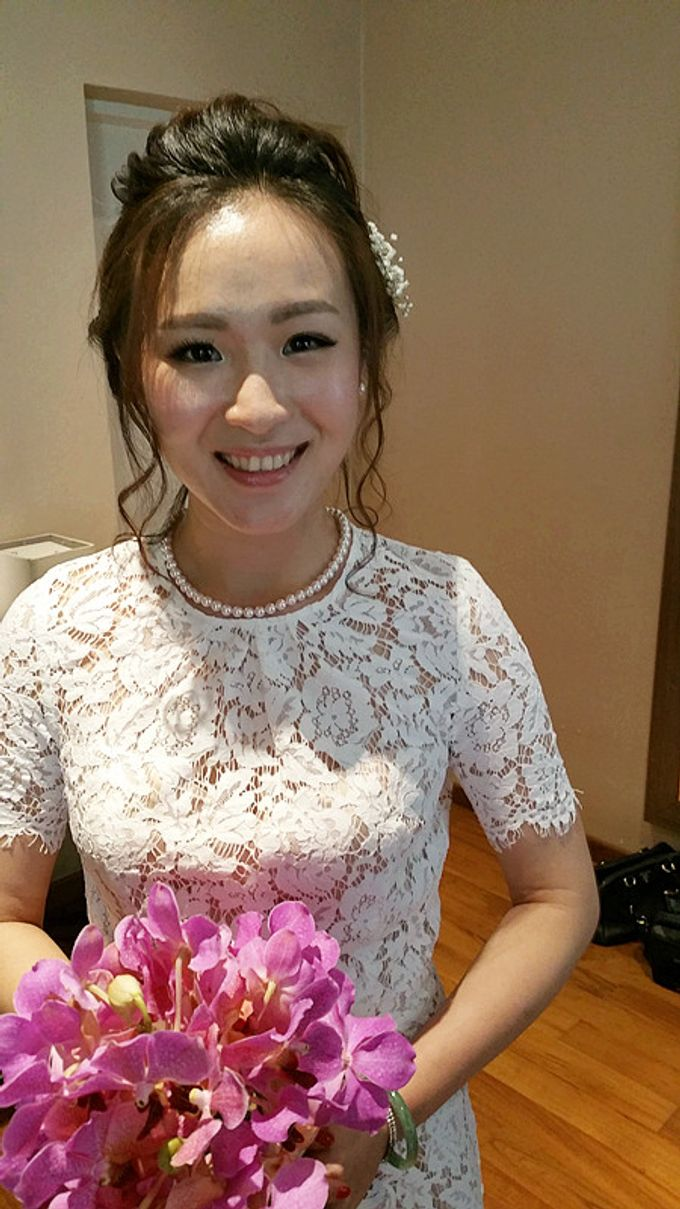 Bridal Makeup and hairstyling by Weiyee-makeup - 001