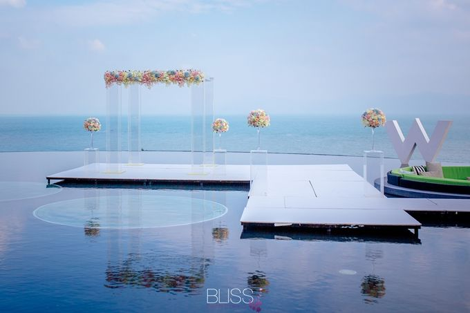 Over water wedding at W retreat koh samui by BLISS Events & Weddings Thailand - 002