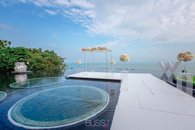 Over water wedding at W retreat koh samui by BLISS Events & Weddings Thailand - 003