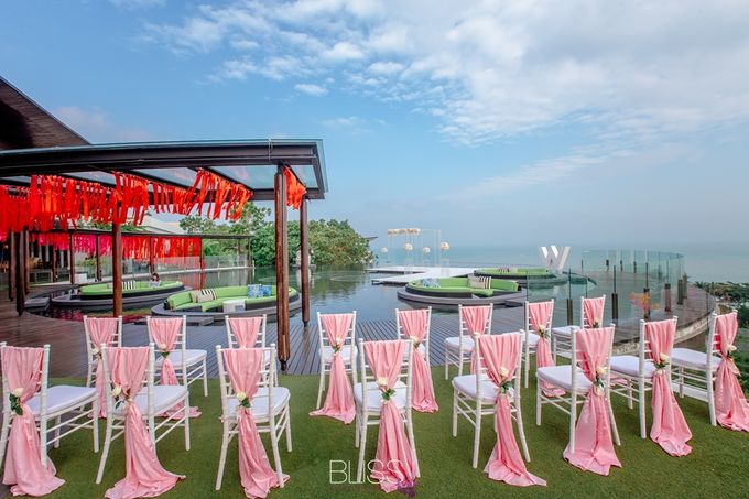 Over water wedding at W retreat koh samui by BLISS Events & Weddings Thailand - 004