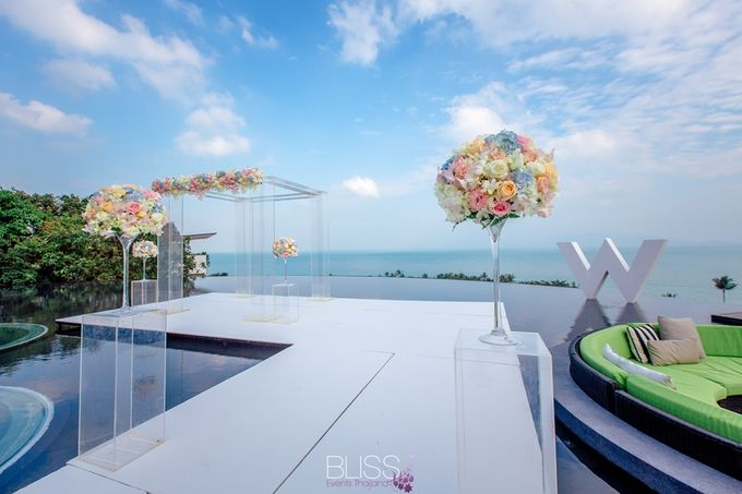 Over water wedding at W retreat koh samui by BLISS Events & Weddings Thailand - 001
