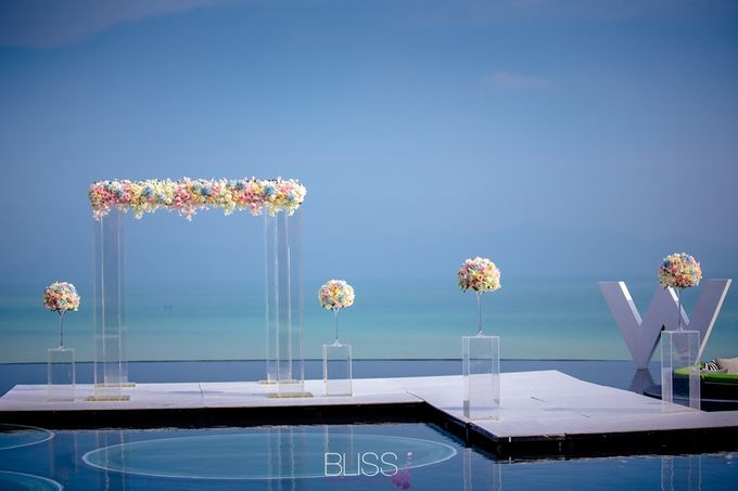 Over water wedding at W retreat koh samui by BLISS Events & Weddings Thailand - 005