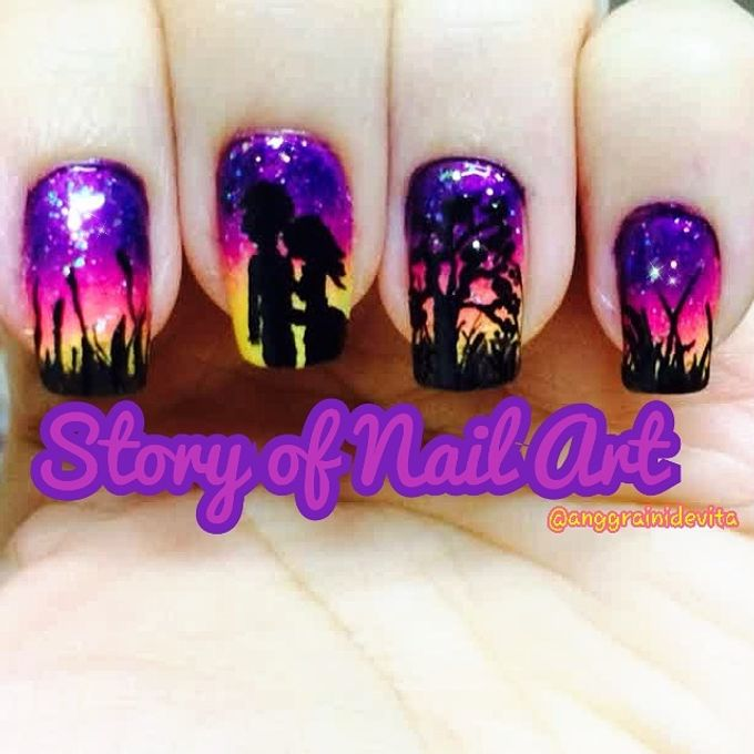 Painting Nails by Story of Nailart - 008
