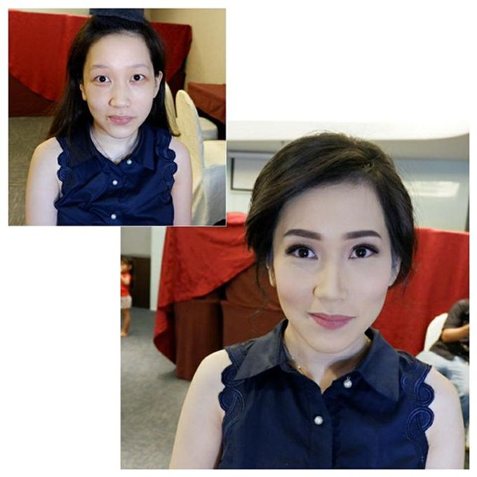 Glowing Makeup For Bridesmaids by MakeupbyDeviafebriani - 009