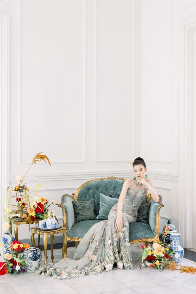 Traditional Wedding Styled Shoot by Iris Photography - 021