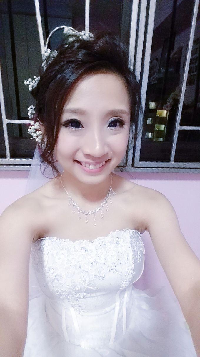 Wedding Makeup & Hairstyling  by Weiyee-makeup - 003