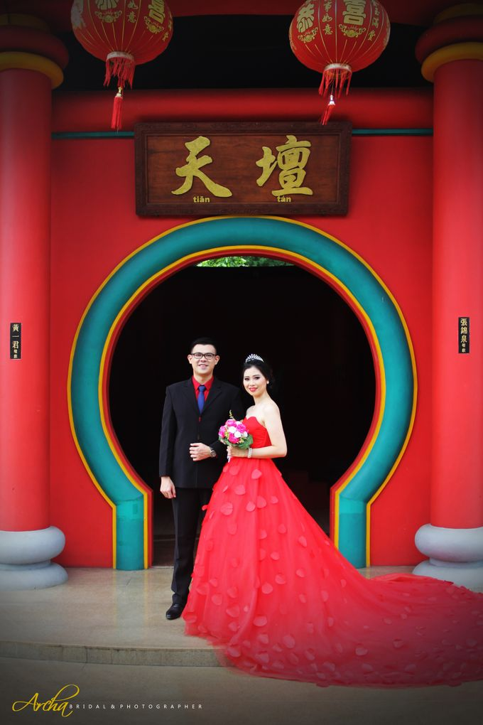 Prewedding outdoor by Archa makeup artist - 003