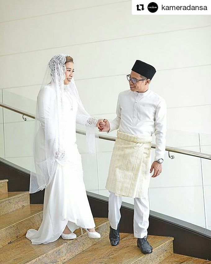 Nikah Wedding Dress by Emma Wedding - 018