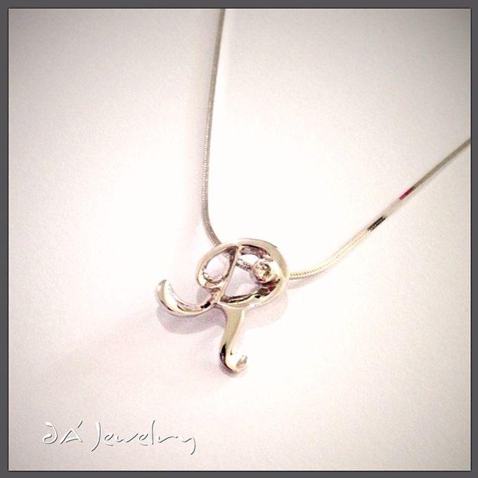 Name & Initial by DA Jewelry - 046