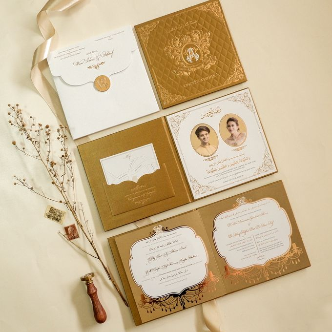 Wan & Ashraf by Meltiq Invitation - 007