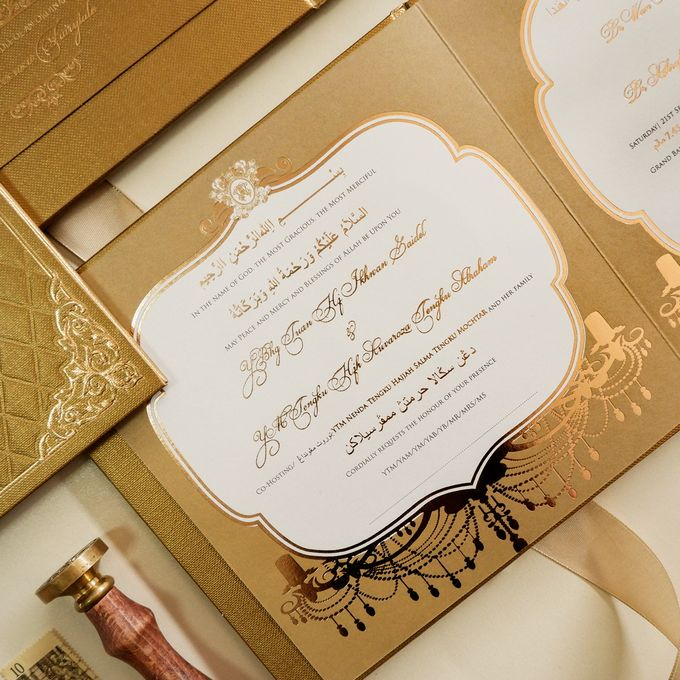 Wan & Ashraf by Meltiq Invitation - 003