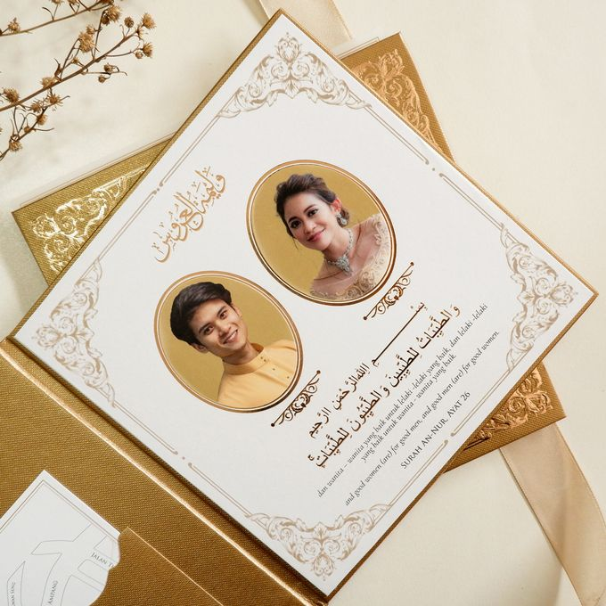 Wan & Ashraf by Meltiq Invitation - 002