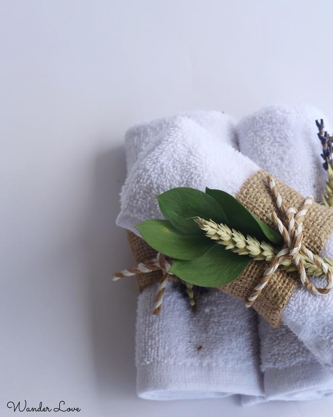 Hand Towel Souvenir  by Wander Love - 001