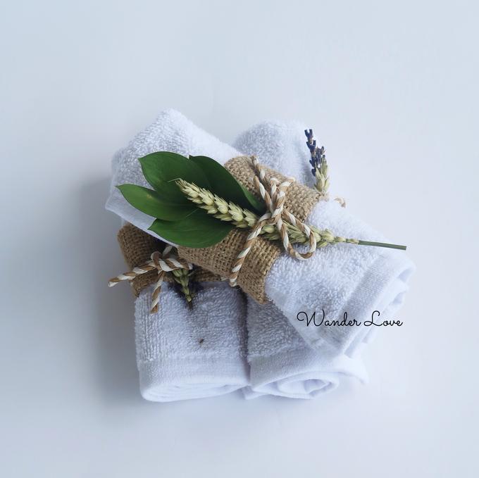 Hand Towel Souvenir  by Wander Love - 003