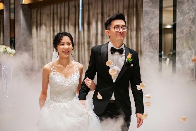 Hilton Wedding - Wang Xun & Lena by GrizzyPix Photography - 001