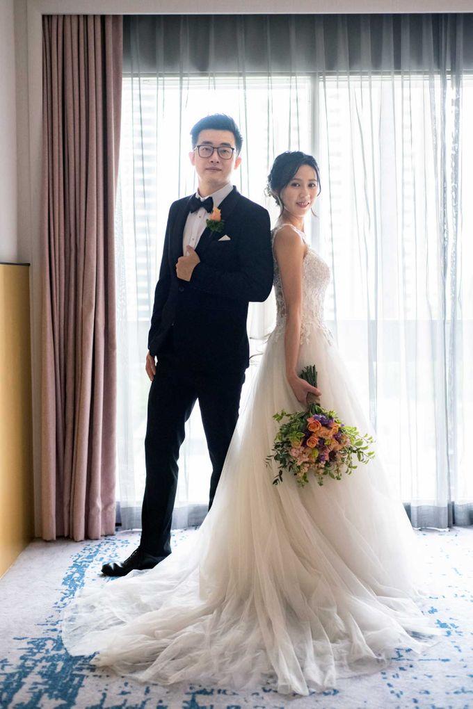 Hilton Wedding - Wang Xun & Lena by GrizzyPix Photography - 002
