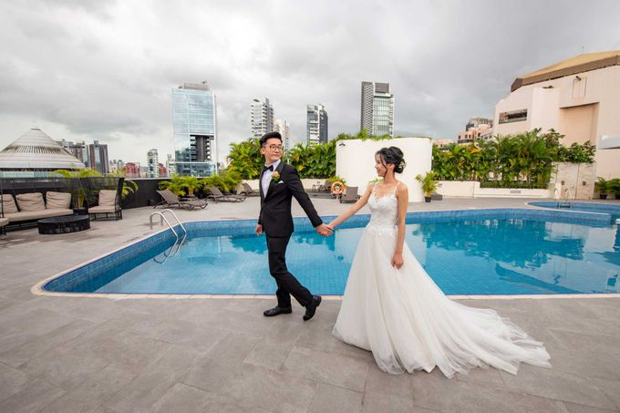 Hilton Wedding - Wang Xun & Lena by GrizzyPix Photography - 003