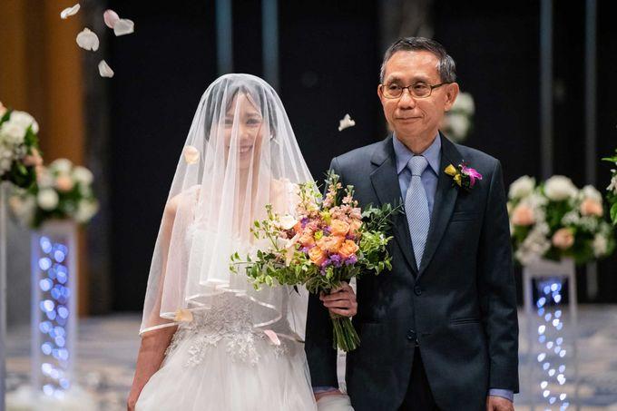 Hilton Wedding - Wang Xun & Lena by GrizzyPix Photography - 006