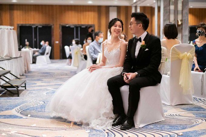 Hilton Wedding - Wang Xun & Lena by GrizzyPix Photography - 007