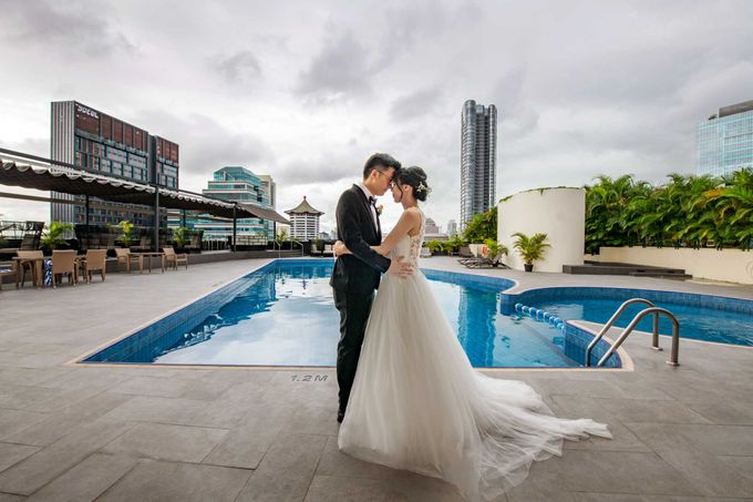 Hilton Wedding - Wang Xun & Lena by GrizzyPix Photography - 012