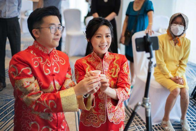 Hilton Wedding - Wang Xun & Lena by GrizzyPix Photography - 005