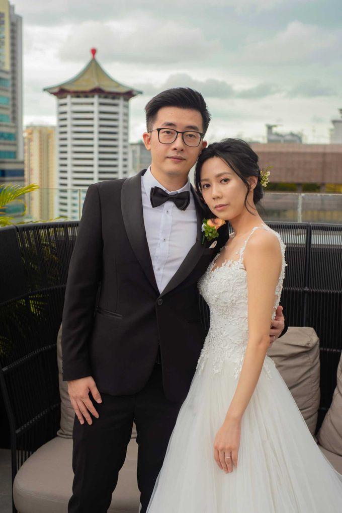 Hilton Wedding - Wang Xun & Lena by GrizzyPix Photography - 013