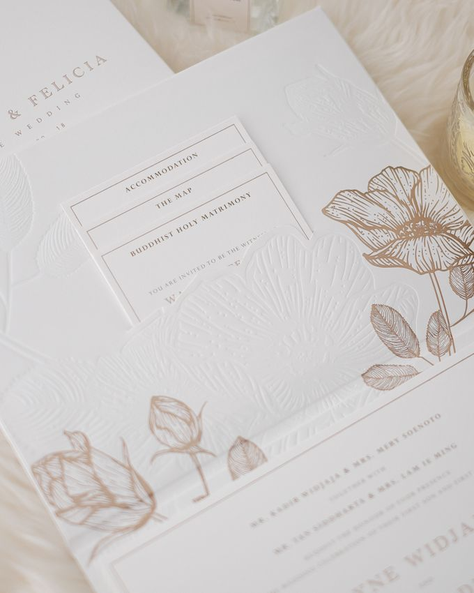 DAZZLING WHITE by BloomingDays Invitation Studio - 003