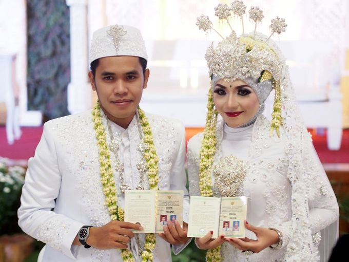 Wedding of Dhiana & Az by Amata Wedding - 005