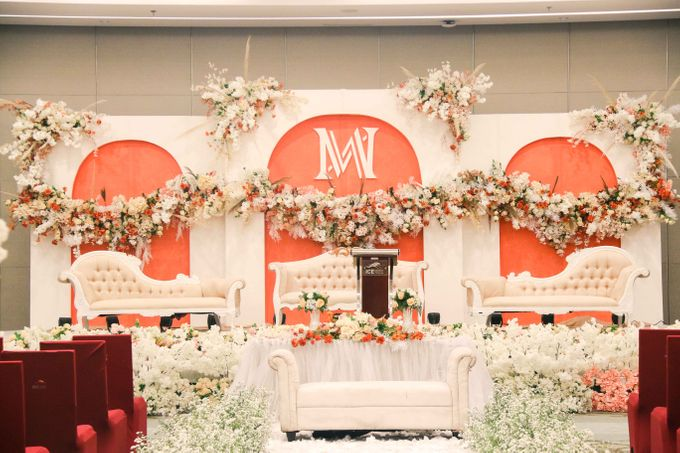 Wedding of Aldous & Michelle by Indonesia Convention Exhibition (ICE) - 001