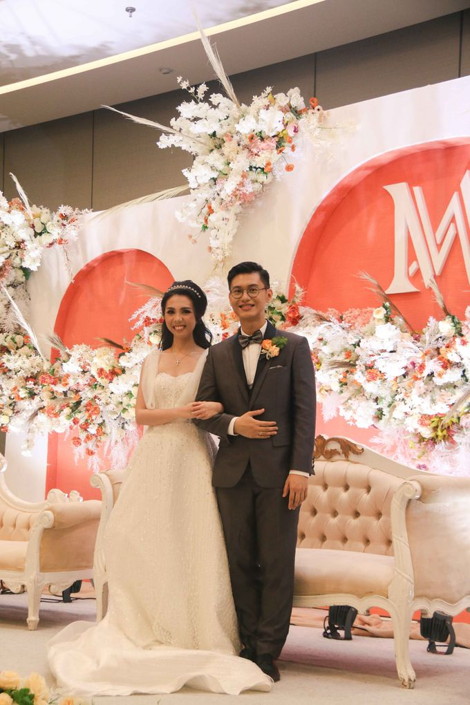 Wedding of Aldous & Michelle by Indonesia Convention Exhibition (ICE) - 009
