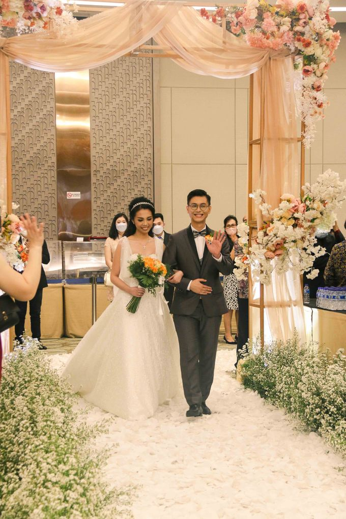 Wedding of Aldous & Michelle by Indonesia Convention Exhibition (ICE) - 002