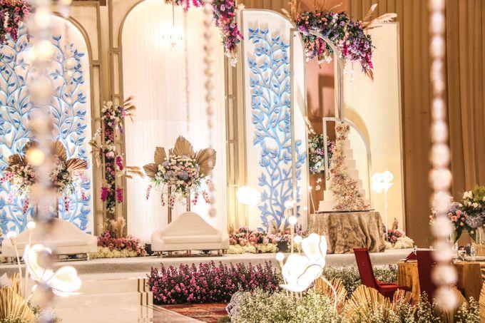 Wedding of Cindiy & Ricky by LeNovelle Cake - 001