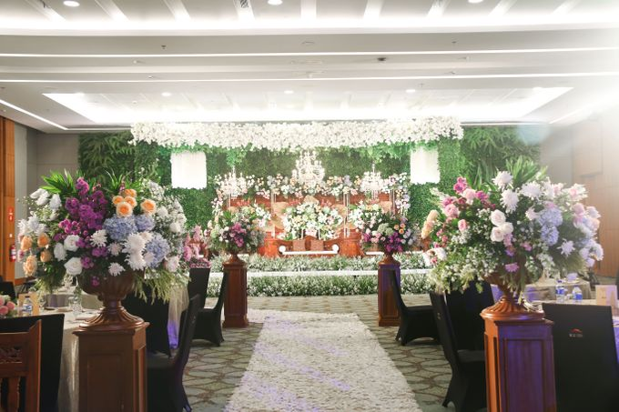 Wedding of Patria & Dinar by Indonesia Convention Exhibition (ICE) - 003