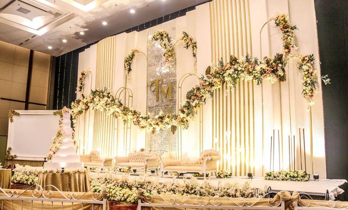 Wedding of Trio & Marlena by Indonesia Convention Exhibition (ICE) - 003