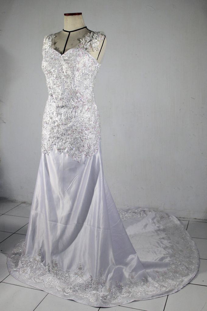 Handcrafted Payette Wedding Dress by Manuela Putri Design & Collection - 001