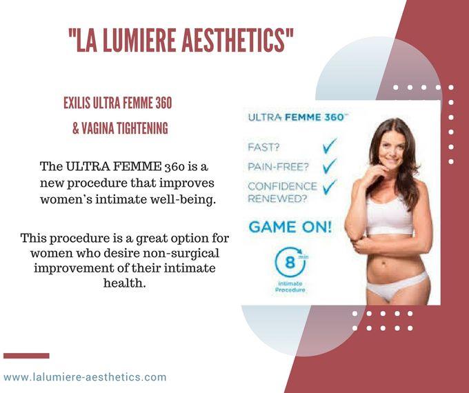 EXILIS ULTRA FEMME & VAGINA TIGHTENING by la lumiere aesthetics - 001