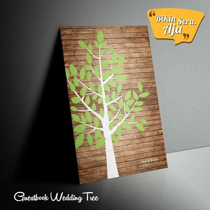 Canvas Guestbook Wedding Artwork (Tree-02) by Bikinseru.aja - 001