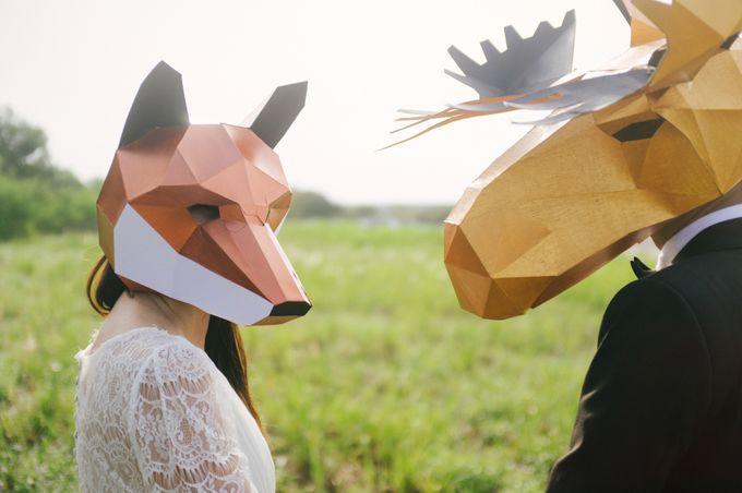 Mrs Fox & Mr Moose by The Peeping Thom - 009