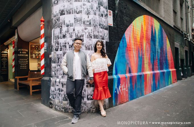 Melbourne Prewedding by Ted by Monopictura - 001