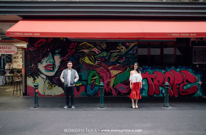 Melbourne Prewedding by Ted by Monopictura - 002