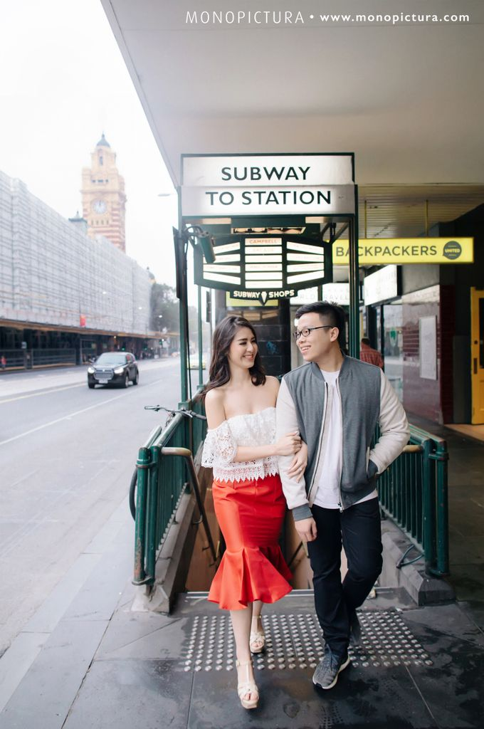 Melbourne Prewedding by Ted by Monopictura - 003