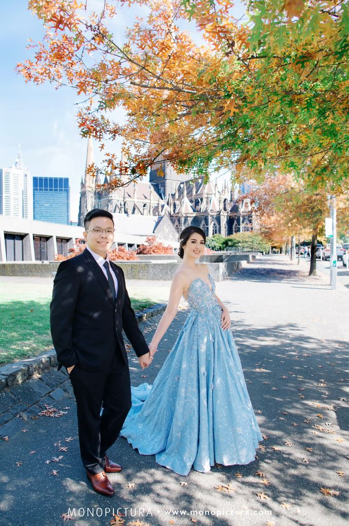 Melbourne Prewedding by Ted by Monopictura - 004