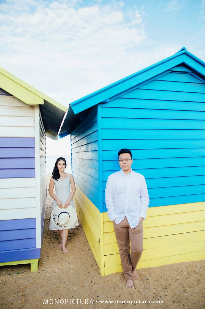 Melbourne Prewedding by Ted by Monopictura - 020
