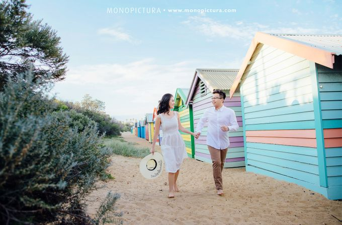 Melbourne Prewedding by Ted by Monopictura - 021