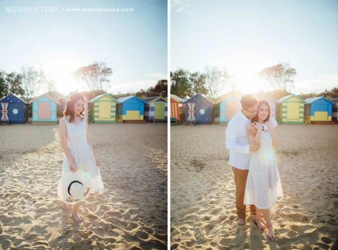 Melbourne Prewedding by Ted by Monopictura - 022