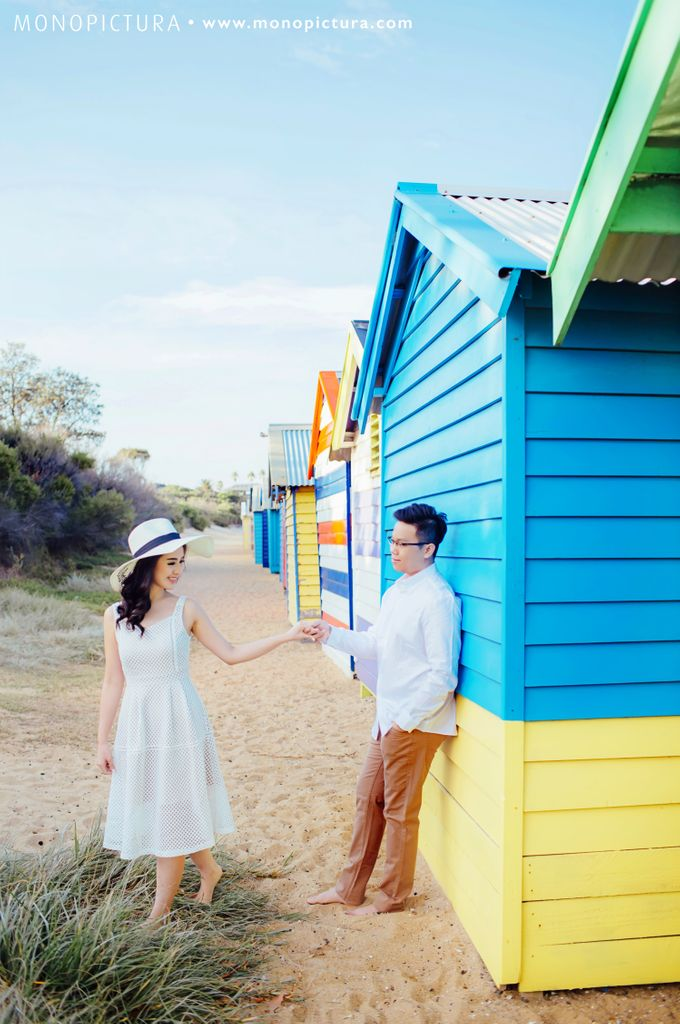 Melbourne Prewedding by Ted by Monopictura - 023