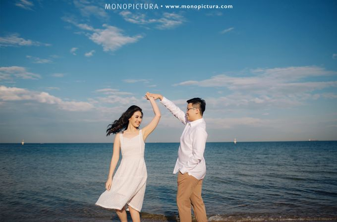 Melbourne Prewedding by Ted by Monopictura - 027